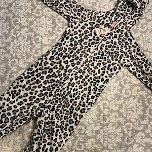 NWT Cheetah/Leopard Onesie